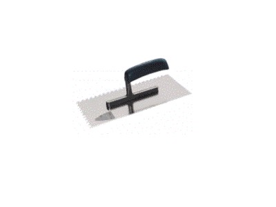 Plastering Trowel, Toothed